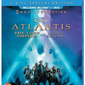 Michael J. Fox & James Garner & Gary Trousdale & Kirk Wise-Atlantis: Two-Movie Collection: (The Lost Empire / Atlantis: Milo's Return)