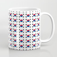 flag of south korea-korea,asia, 서울특별시,부산광역시, 한국,seoul Coffee Mug by oldking