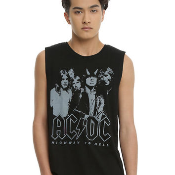 AC/DC Highway To Hell Muscle T-Shirt