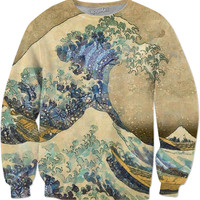 Japanese Painting Sweater