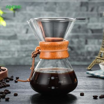 Pro Pour Over Coffee Maker