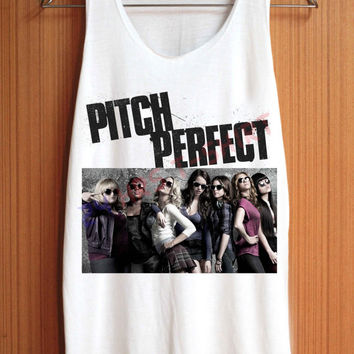Pitch Perfect Shirt Top Tank Top Tee Tunic Singlet Women - Size S M L
