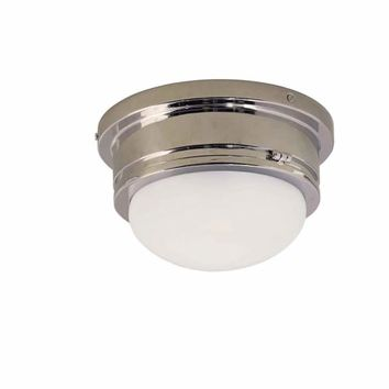 Visual Comfort and Company SL4001CH-WG Medium Chrome Marine Flush Mount Ceiling Light