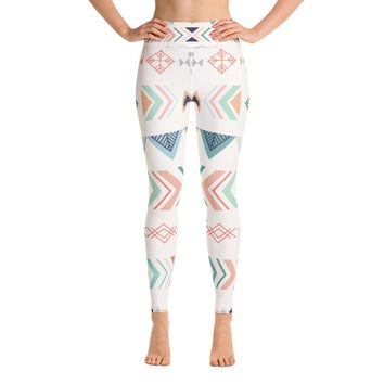 Tribal Leggings Yoga Leggings high waist leggings for women workout leggings