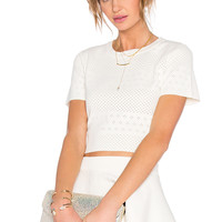 Lovers + Friends x REVOLVE Be Mine Top in White