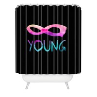 Jacqueline Maldonado Forever Young 2 Shower Curtain