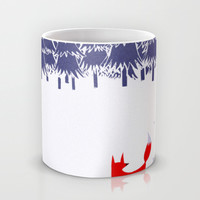 Alone in the forest Mug by Robert Farkas