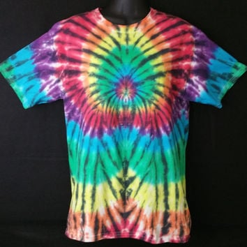 Hand Dyed Tie Dye Shirt | Hanes Beefy-T 6.1oz Shirt Youth / Adult (SHORT or LONG SLEEVE)