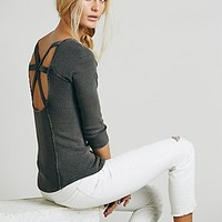 Free People Womens Star Crossed Tee