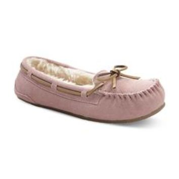 Women's Moxie Moccasin Slipper - Pink - Sears