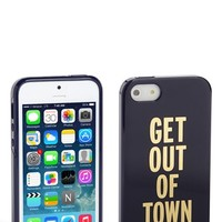 kate spade new york 'get out of town' iPhone 5 & 5S case | Nordstrom