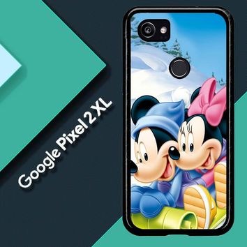 Mickey Mouse And Minnie Mouse X4965 Google Pixel 2 XL Custom Case