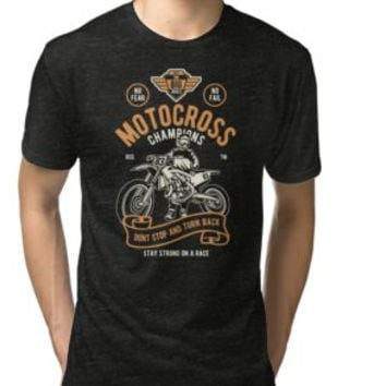 'MOTOCROSS ' T-Shirt by Super3