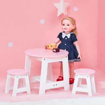 "Olivia's Little World - Little Princess 18"" Doll Outdoor Table & 2 Chairs Set"