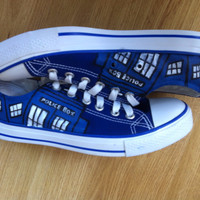 Doctor Who Converse Shoes - BlingLogo