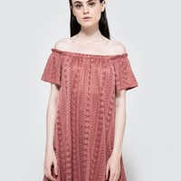 Farrow / Camilla Off the Shoulder Dress