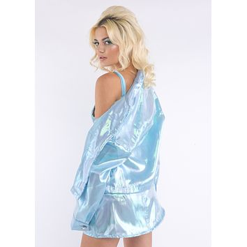 Baby Blue Fairy Dust Jacket