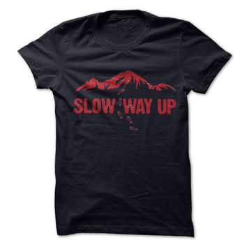Mountain Slow way up