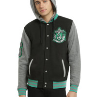 Harry Potter Slytherin Varsity Hoodie