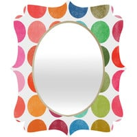 Garima Dhawan Colorplay 5 Quatrefoil Mirror