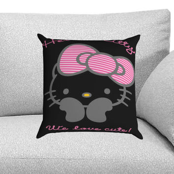Cute Hello Kitty Custom Pillow Case for One Side and Two Side