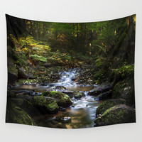 Reality lost Wall Tapestry by HappyMelvin