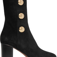 Chloé - Orlando embellished suede ankle boots