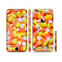 The Candy Corn Sectioned Skin Series for the Apple iPhone 6 Plus