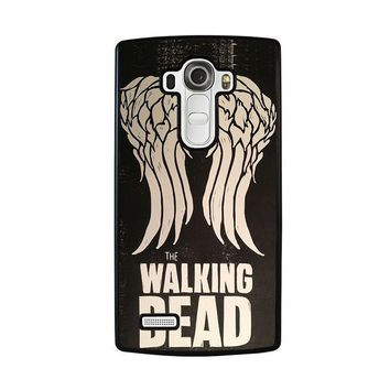 walking dead daryl dixon wings lg g4 case cover  number 1