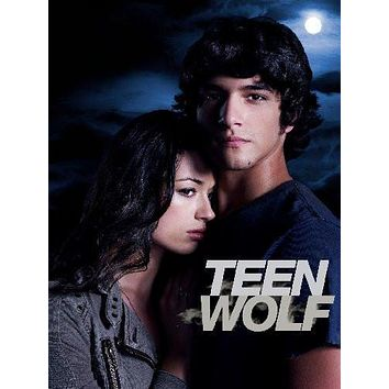 Teen Wolf Mtv poster Metal Sign Wall Art 8in x 12in