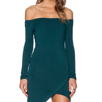 Sweets Dress in Emerald