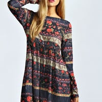 Ruby Oversized Smock Dress