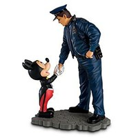 Policeman and Mickey Mouse Figurine | Disney Store