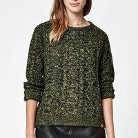 OBEY Freja Cable Knit Pullover Sweater at PacSun.com