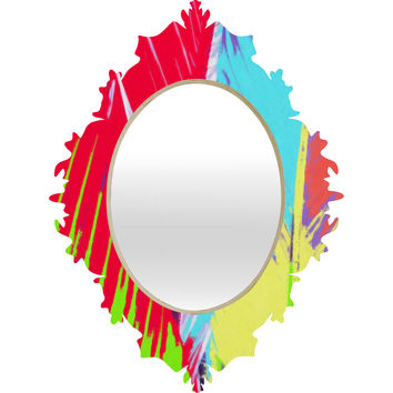 Rosie Brown Rainbow Palms Baroque Mirror