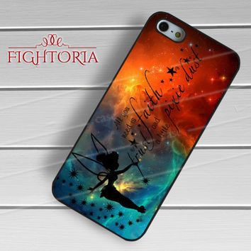 Pixie Dust Tinkerbell Peter Pan Quotes - z321z for iPhone 6S case, iPhone 5s case, iPhone 6 case, iPhone 4S, Samsung S6 Edge