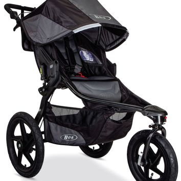 BOB Revolution PRO Jogging Stroller Swivel Fixed Wheel Baby Jogger 2017 Black