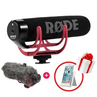 Ulanzi Video Recording Mic Rode VideoMic GO On-Camera Shotgun Microphone for Canon Nikon Sony DSLR DV Camcorder (Free Deadcat)