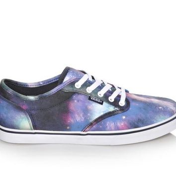 Vans Atwood Low Textile - Cosmic Galaxy | Shoe Carnival