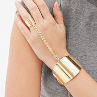 FOREVER 21 Hand Chain Set Gold