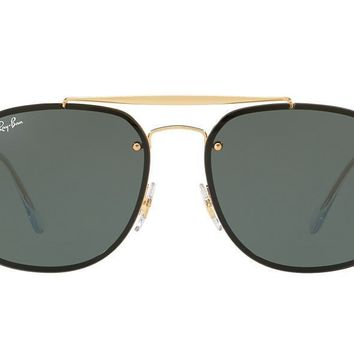 NEW SUNGLASSES RAY-BAN BLAZE GENERAL RB3583N in Gold