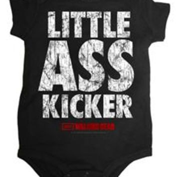 The Walking Dead 'Little Ass Kicker' Infant Snapsuit