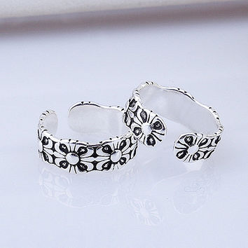 Jewelry New Arrival Shiny Gift 925 Silver Classics Stylish Korean Ring [7652921415]