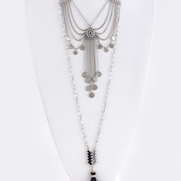 Beautiful You Necklace: Black