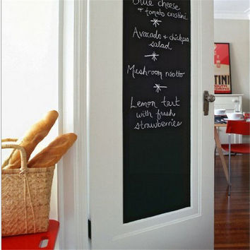 Chalk Board Blackboard Stickers Removable Vinyl Draw Decor Mural Decals Art Chalkboard Wall Sticker For Kids Rooms EJ871243