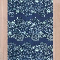 Lana 3x5 Rug in Blue at Urban Outfitters