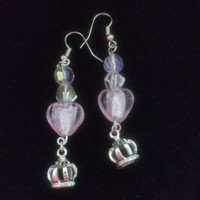Pretty Pink Princess Earrings