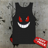 Pokemon Gengar Tank Top, Men Tank Top, Girls Tank Top, Ladies Tank Top