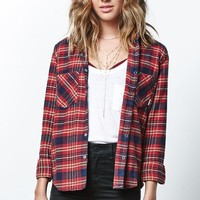 Element Slacker Plaid Flannel Shirt - Womens Shirts - Plaid
