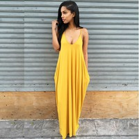 Plus Large Size XL Loose Sexy Party Beach Casual Office Boho Girl Long Dress 2017 Summer Bodycon Clothing Women's Dresses 204